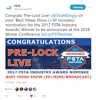 fsta award draftkings