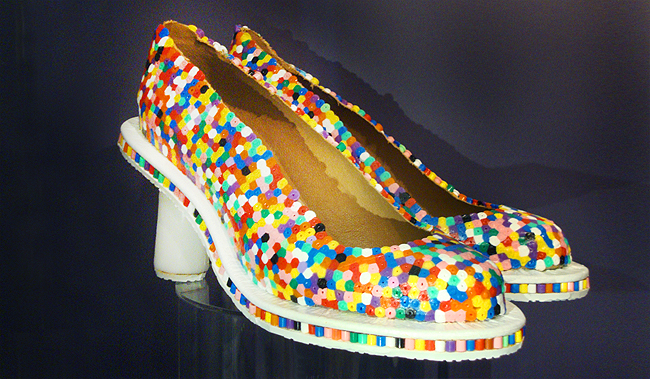 Museum of bags and purses, amsterdam, beaded shoes