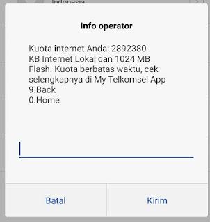 Kali ini kita akan bahas ihwal cara cepat cek kuota internet ya Cara Cek Kuota Telkomsel, Super Cepat!