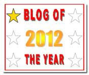 Blogger of the Year 2012