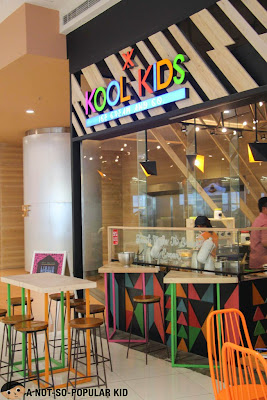 Kool Kidz Ice Cream Store in SM Megamall