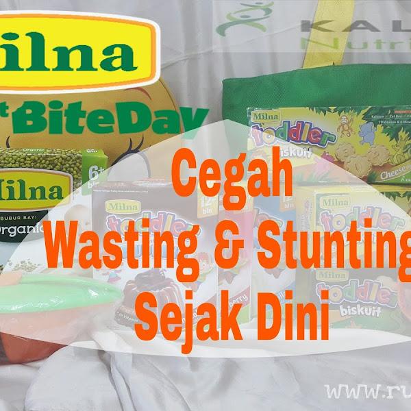 Belajar, bermain dan Makan bergizi bareng Milna 1st Bite cegah Wasting dan Stunting sejak dini