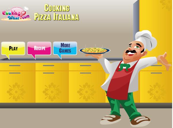 Làm bánh piza Ý