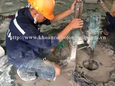 Khoan cắt bê tông tại huyện U Minh