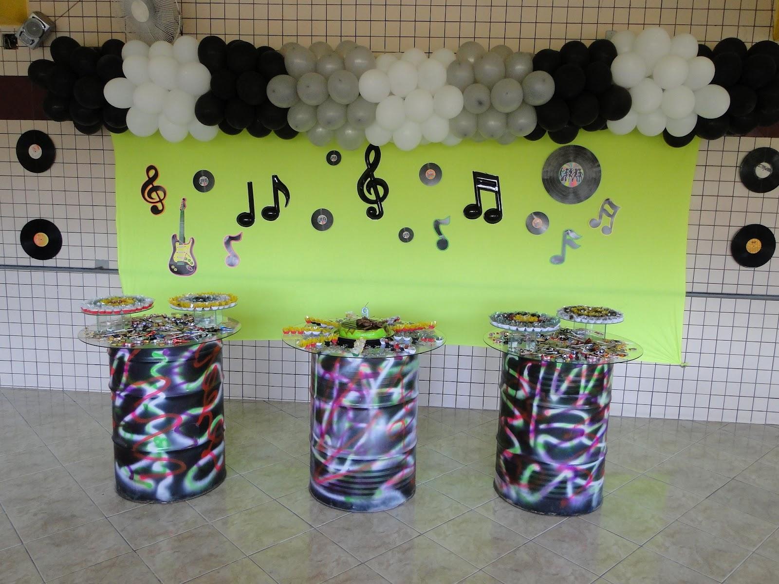 spesso Ateliê Pronto Art: Decoração Festa - Discoteca IN31