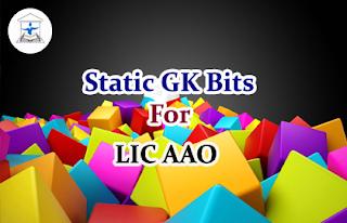 Static GK Bits for LIC AAO Set-5