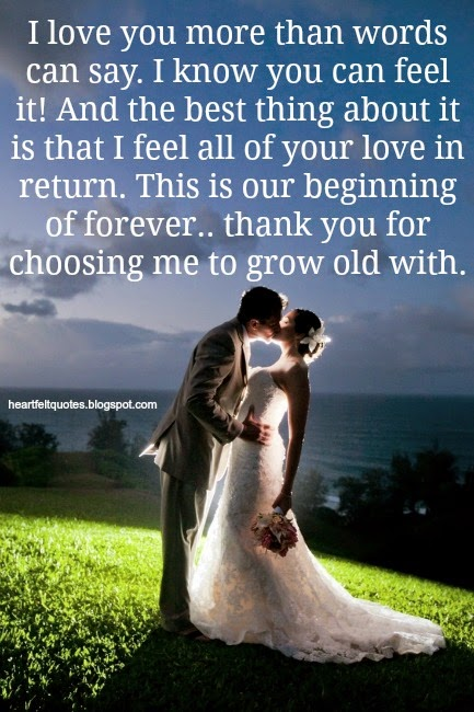 Wedding Heartfelt Love And Life Quotes