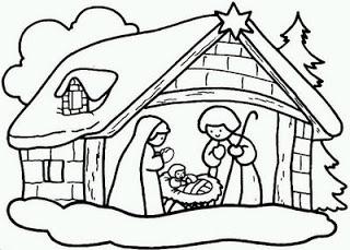 Varios Desenhos Sobre O Natal Colorir Pintar E Recortar So Escola