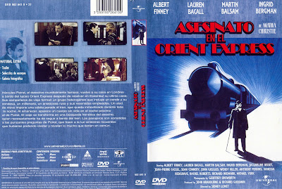 Cover, dvd:Asesinato en el Orient Express | 1974 | Murder on the Orient Express
