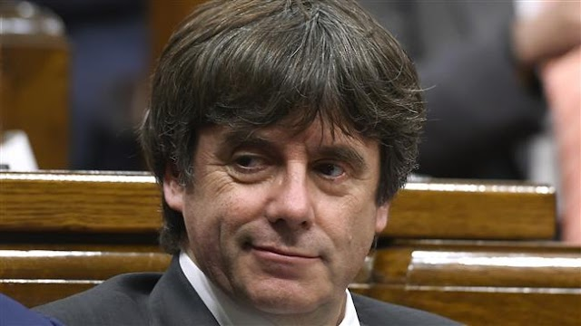 Former Catalan leader Carles Puigdemont seeking immunity for leadership vote