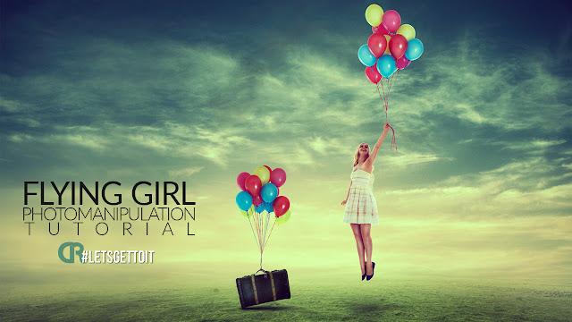 Video Tutorial: Flying Girl - Photo Manipulation Tutorial