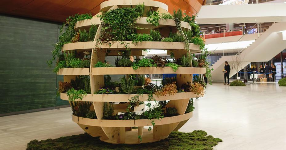 Ikea releases free design for garden sphere 101 gardening for Xd garden design