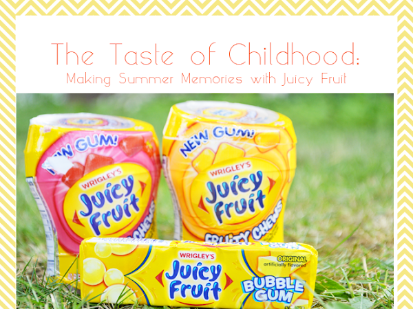 The Taste of Childhood: Making Summer Memories with Juicy Fruit {#JuicyFruitFunSide #shop #cbias}