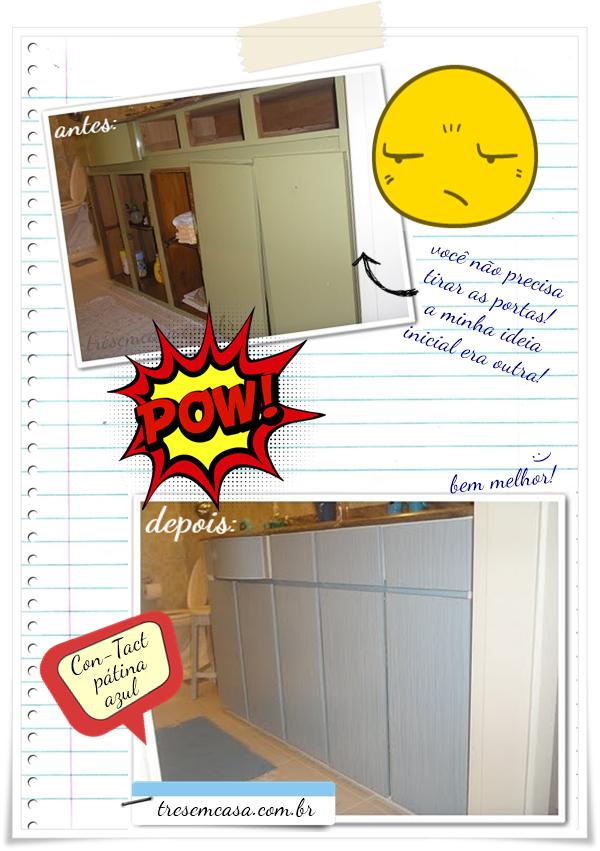 reformar armário adesivo