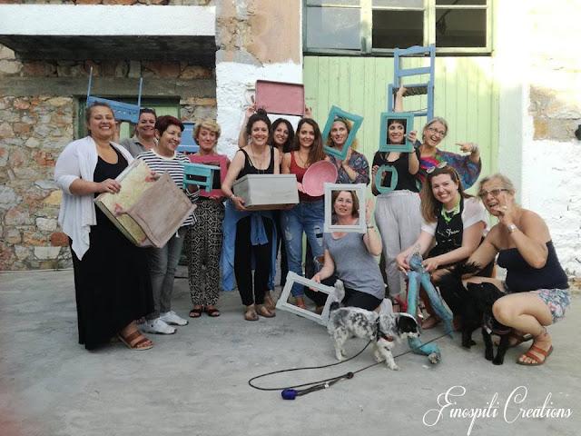 Fino Spiti Creations: Μαριάνθη Κάρτα 4 Annie Sloan Greece