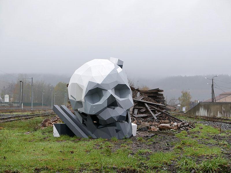 David-Mesguich-06 Deserted Boulevard Sculptures through David Mesguich Design