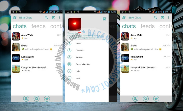 BBM2 Mod Windows Phone Theme Apk Versi 2.13.0.26