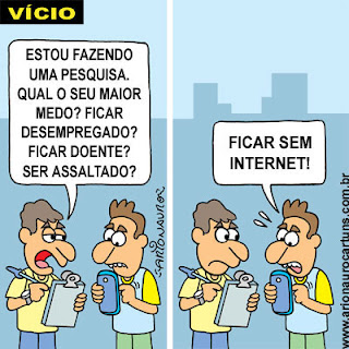portfÓlio on line portuguÊs turmas 81 e 82 charges sobre a