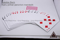 Jual alat sulap invisible deck