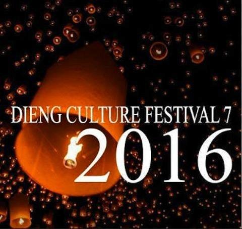 foto dieng culture festival 2016