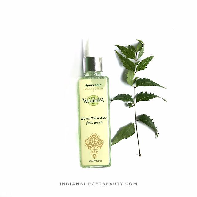 Vedantika Herbals Neem Tulsi Aloe Face Wash Review