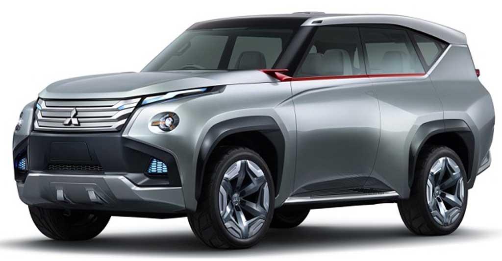 2016 Mitsubishi Montero Sport Exterior