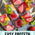 Easy Protein Fruitsicles