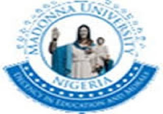 Madonna University 2018/2019 Pre-Degree Admission Form Out
