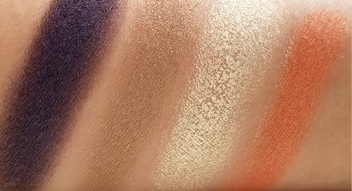 Swatches SOTHYS Paris Review Ombre Sothys Lidschatten Quartett 30 Jardin des Constellations - Les Jardins Sothys Spring/Summer Makeup Collection 2018