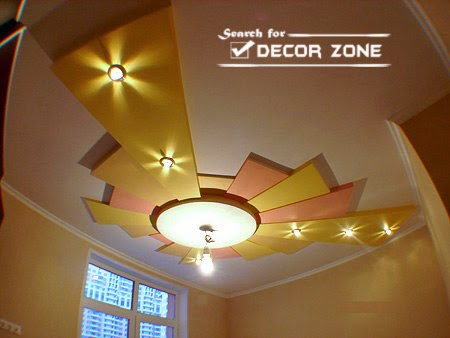 25 modern pop false ceiling designs for living room for International decor false ceiling