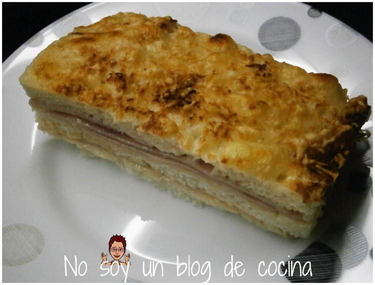 Pastel de sandwich hecho al horno no soy un blog de cocina for Monsieur meuble canape antigua