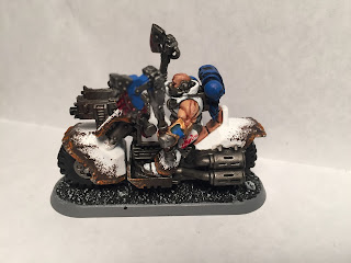 World Eaters Biker
