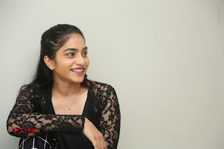 Actress Punarnavi Bhupalam Stills in Black Dress at Pittagoda Press Meet  0170.JPG