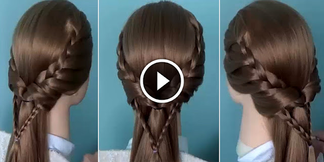 How To Make This Quick And Easy Butterfly Hairstyle, See Full Tutorial