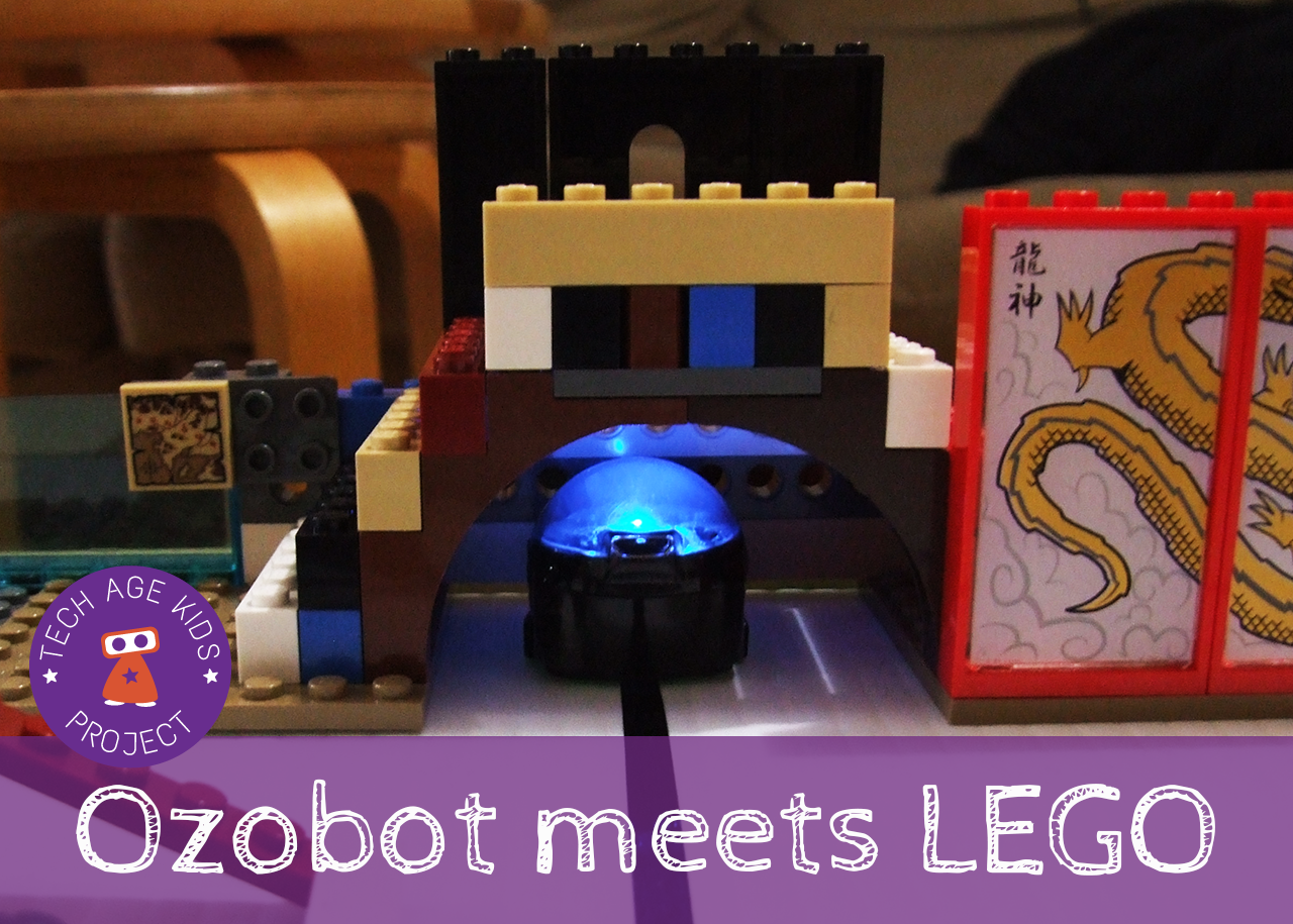 Ozobot meets LEGO - Bringing Blocks to Life with a Mini