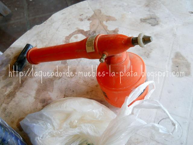 Pulverizador para esmaltar cerámica