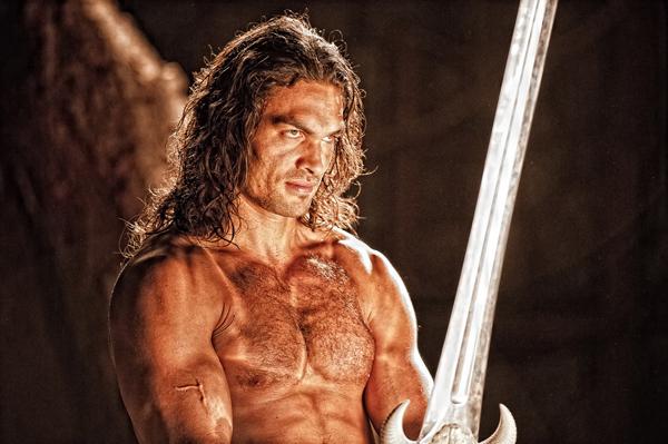 Jason Momoa como Conan el Bárbaro
