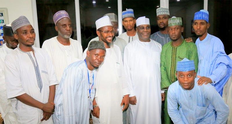 Muslim students pay homage to former VP Atiku