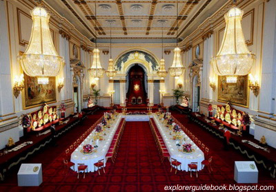 Inside Buckingham Palace Ballroom