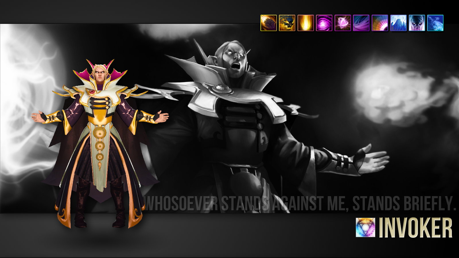 Dota 2 Wallpapers: Dota2 Wallpaper Invoker 1920x1080 (by_imkb)