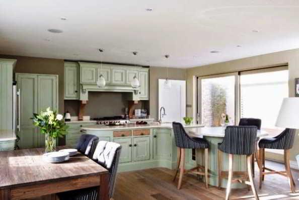 Desain Dapur Dan Ruang Makan Jadi Satu