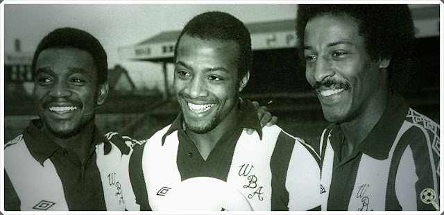 Three Degrees West Bromwich Albion Brendon Batson Laurie Cunningham Cyrille Regis