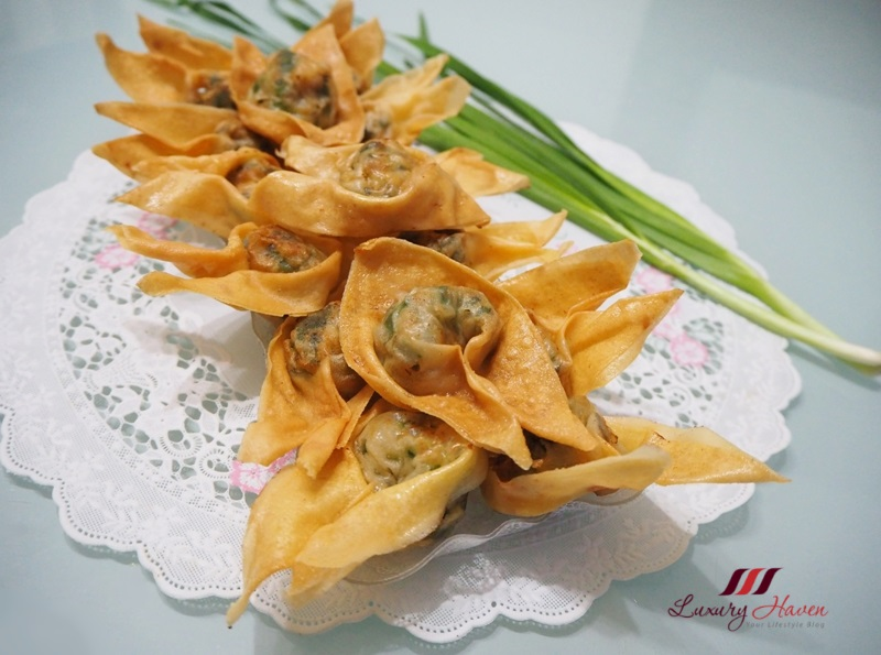addictive deep fried wonton with chives recipe