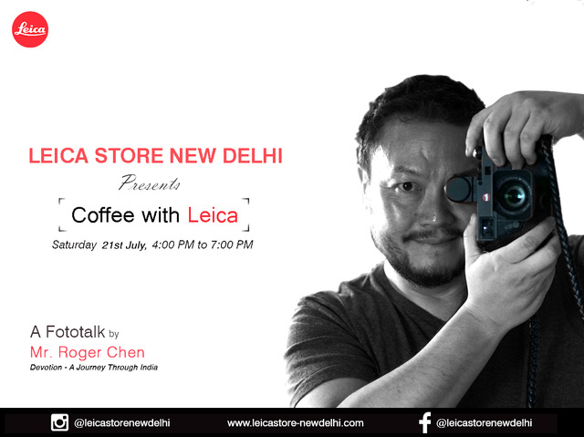 "Celebrate the rich culture of India with 'Devotion- A Journey through India' at ""Coffee with Leica"""