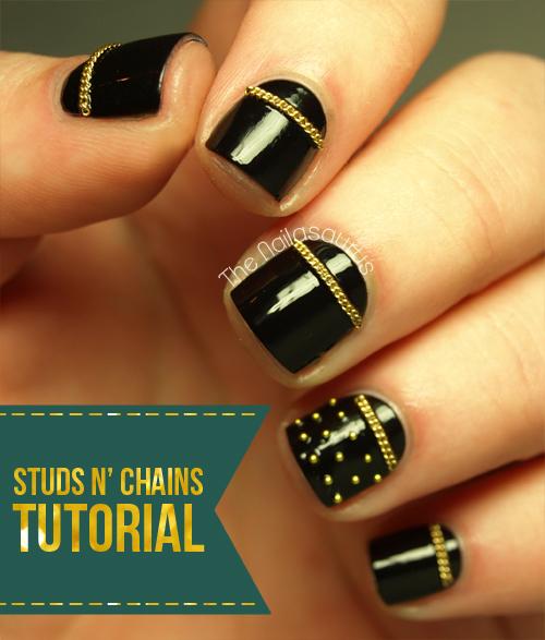 Sally Hansen Street Style Tutorial: Studs N' Chains