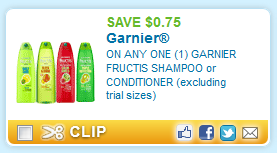 Garnier Fructis Triple Nutrition Shampoo Natural Hair