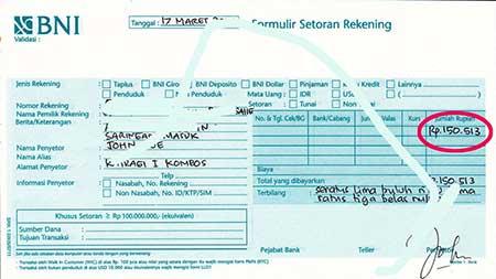 Mengapa Uang Kiriman Belum Masuk ke Rekening BNI?