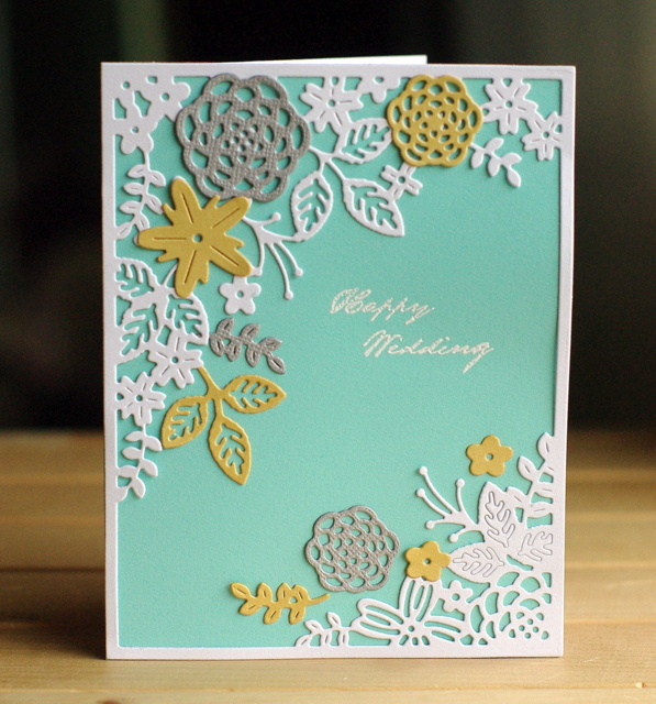 Fusion: Wedding Belles Leigh Penner @leigh148 @bazzillbasics #bazzillbasics #cards