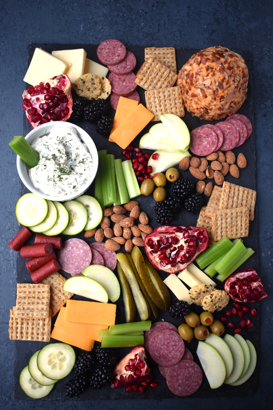 Ultimate Holiday Cheese Board