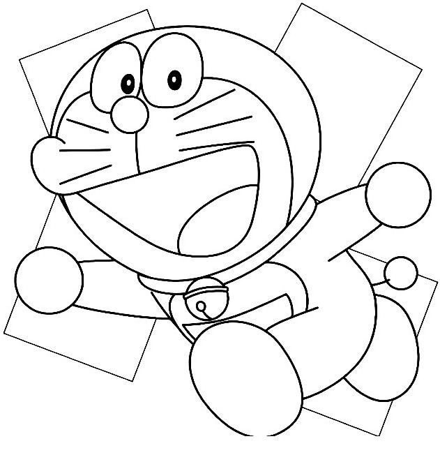 Unduh 4000 Koleksi Gambar Ilustrasi Doraemon Hitam Putih HD Lucu